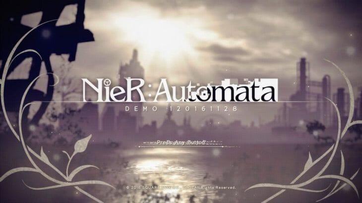 【PS4】NieR:Automata(ニーア オートマタ)体験版レビュー(プレイ動画あり)「アクション・世界観・音楽が高いレベルで融合した作品」