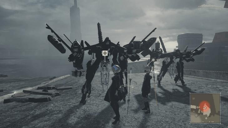 【PS4】NieR:Automata(ニーア オートマタ)基本知識と操作方法解説(周回に関するネタバレなし)
